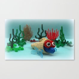 Marg Cone Fish Canvas Print