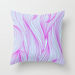 Particles of you Throw Pillow