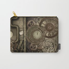 Steampunk, clocks and gears Carry-All Pouch