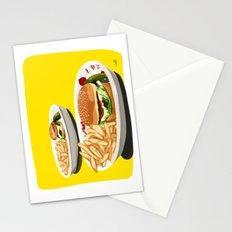 Homemade Cheeseburger Stationery Cards