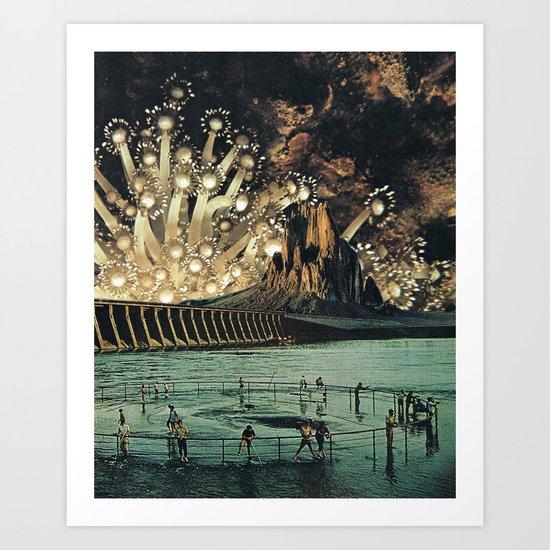 Central Coast Art Print