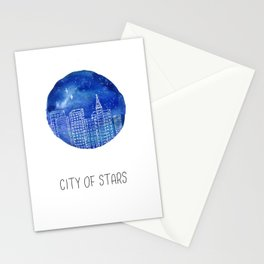 La La Land Movie Poster Stationery Cards