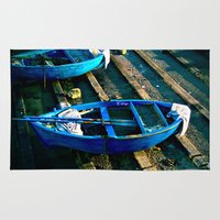 boats Area & Throw Rugs featuring Boats by jdshock
