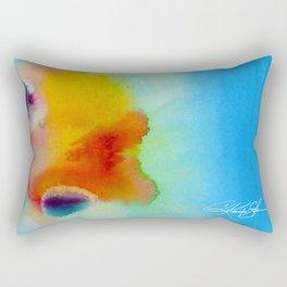 Meditations No. 30 Rectangular Pillow