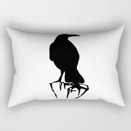 Raven Perch Rectangular Pillow