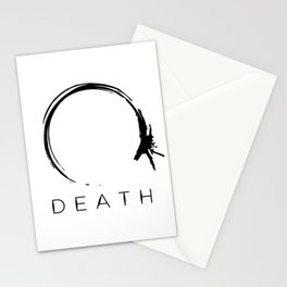 Arrival - Death Black Stationery Cards
