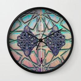Mosque Door Wall Clock