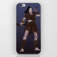 archer iPhone & iPod Skins featuring Archer by QianqiJin