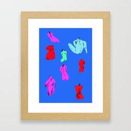 Life Study Framed Art Print