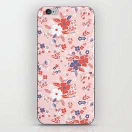 Wild Flowers III iPhone Skin
