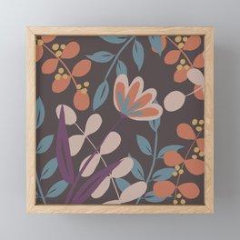 Whimsical Garden Framed Mini Art Print