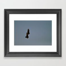 Wing Man Framed Art Print