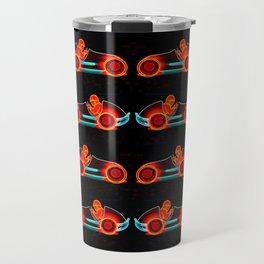 Midget race car pop art Travel Mug