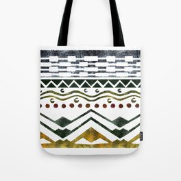 Ethnic Stencil Tote Bag