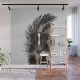 Skunk - Colorful Wall Mural