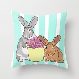 Willow and Charlie Throw Pillow