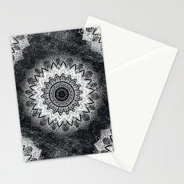 MONOCHROME BOHOCHIC MANDALA Stationery Cards