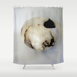 Smoke-Fired Pot Shower Curtain