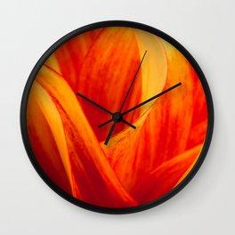 Flames Wall Clock