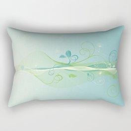 Dandelion Breeze Rectangular Pillow
