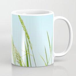 Nature photography Green grass I Coffee Mug