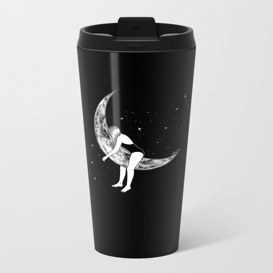 Moon Lover Metal Travel Mug