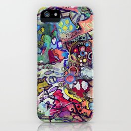 The Scroll: 66 Days Later iPhone Case