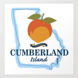 Cumberland Island - Georgia. Art Print