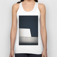 oslo Tank Tops featuring The Opera by Marte Stromme