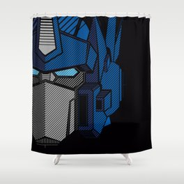 026 Optimus Full Shower Curtain