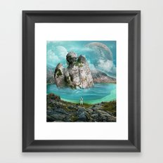 the find Framed Art Print