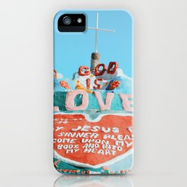 Salvation Mountain iPhone Case