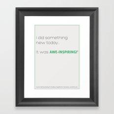 Awe-Inspiring Framed Art Print