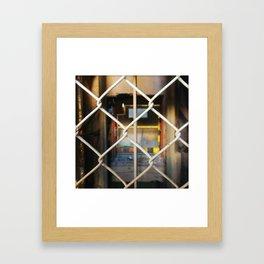 Abandoned X Framed Art Print