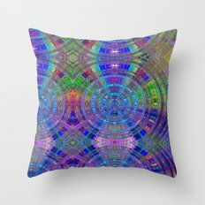 Frank Bonnila Abstract Throw Pillow