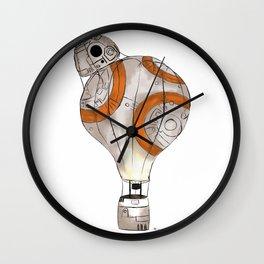 BB8 Balloon Wall Clock