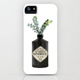 Gin and eucalyptus  iPhone Case