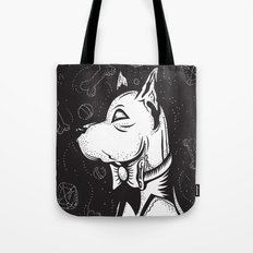 Family Portrait Dog Tote Bag