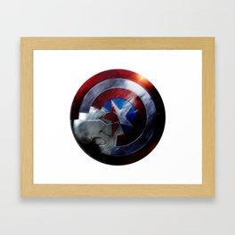 Bucky and Steve  Framed Art Print