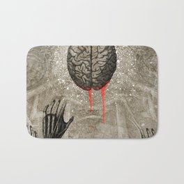 Brains Bath Mat