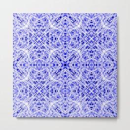 Blue Chaos 10 Metal Print
