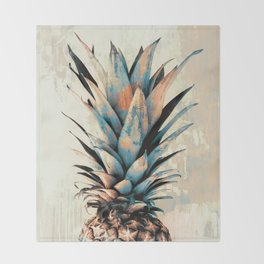 PINEAPPLE 3 Throw Blanket