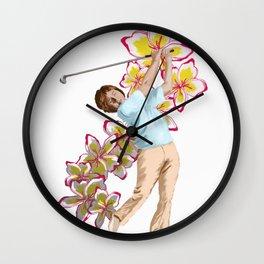 Gary Planos Tribute Wall Clock