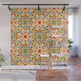 Tangerine Confetti Wall Mural