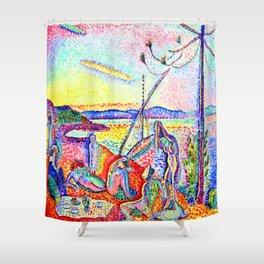 Henri Matisse Luxury Calm and Pleasure Shower Curtain