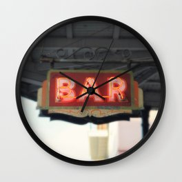 New Orleans Bar Sign Wall Clock