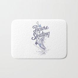 Figure skating Bath Mat