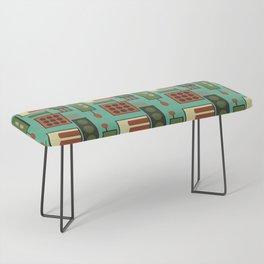 Retro Geodesic Bench