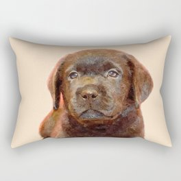 Labrador puppy Rectangular Pillow