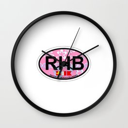 Rehoboth Beach - Delaware. Wall Clock